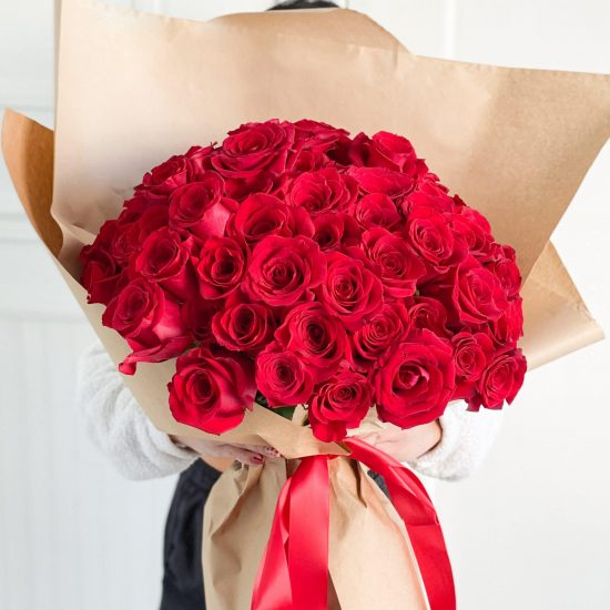 100 stems red roses bouquet toronto
