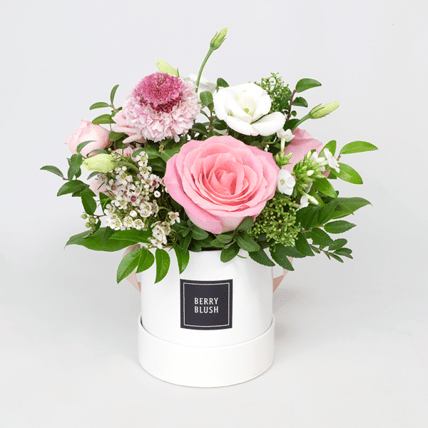 Berry Blush Boxed Flowers