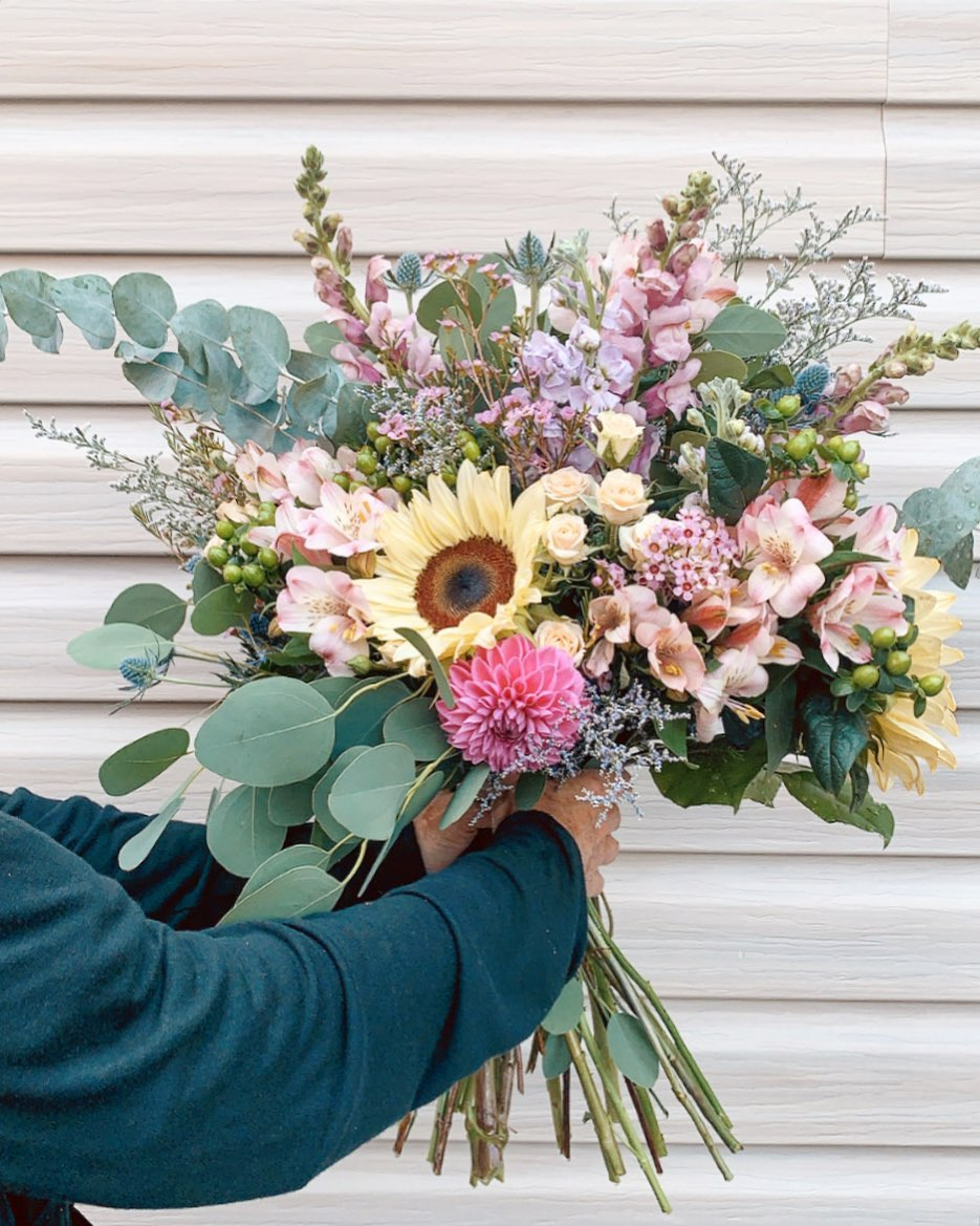 Orchid Florist ready for delivery and curbside pickup