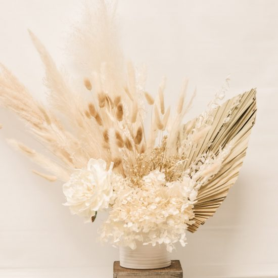 Dried Pampas Flower Arrangement Toronto Home Decor